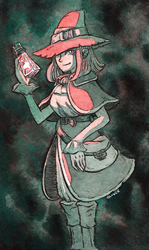 Potion Witch by Oliver-Hamlin
