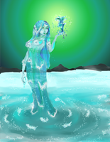 Water Elemental - The Water Diva by Jenny42