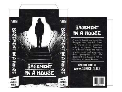 Basement in a House - VHS Case by ericdollich
