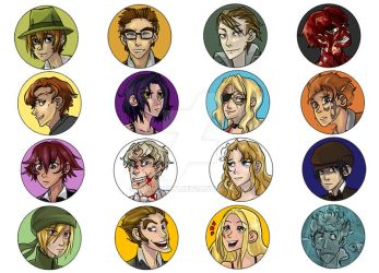 Baccano Pins by animatey