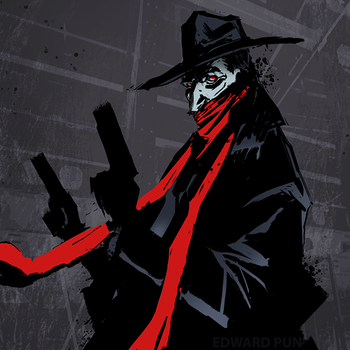 The Shadow by pungang