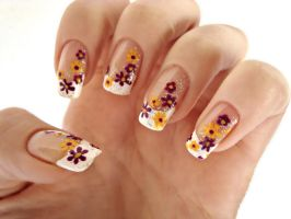 Spring Nail Art by DancingGinger