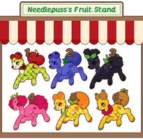 Fruit Stand Pillowings Sale (CLOSED) by CloverCoin