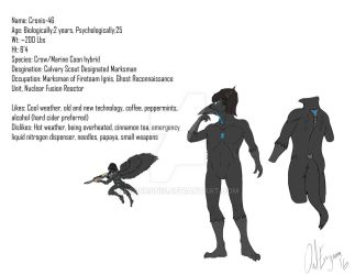 Cronis-46 Reference Sheet V.2b by LeoCronis