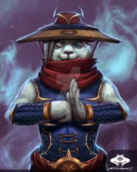 ...Commission: Pandaren Mage... by ShadowPriest