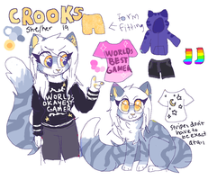 Crooks Ref by hollyleafe