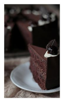270 - Chocolate cake... by AnnaMagdalenaPe