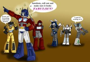 Autobots are FABULOUS by Ty-Chou