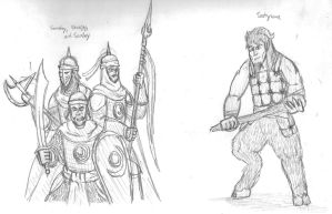 Fierce Wars and Faithful Loves, Characters 2 by DWestmoore