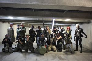 MGS saga cosplay 1 by M4n1nm1rr0r