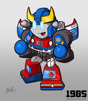 1985 Autobot Smokescreen by MattMoylan