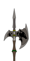 ApplewoodArt Commission: Halberd by NeonBlacklightTH