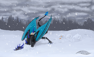 Snow day by Virensere