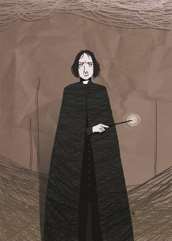 Snape by Androstrb