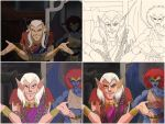 Gargoyles Screencap Redraw #4 Steps by TheSylverLining