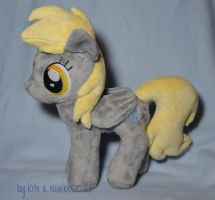 Derpy Hooves plush by Rainbow-Kite