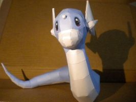 Dratini by jewzeepapercraft
