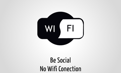 Be social no wifi conection by aplus89