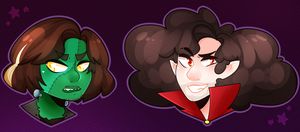 Ghoul Grumps Redraw by SakuraDraws