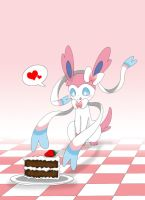 Here your cake, baby. by Winick-Lim
