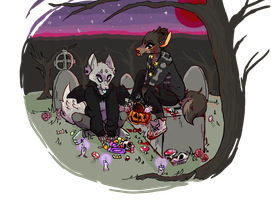 halloweenies by puppyskulls