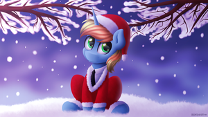 Christmas Horse [Commission] by Spirit-Dude