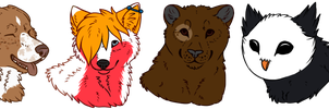 headshots for toucat by thelunacy-fringe