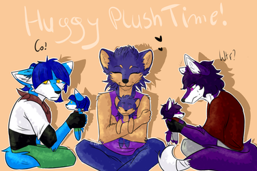 AT plush time by SonicaHedge