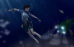 Tomb Raider II - 40 Fathoms by Larreks