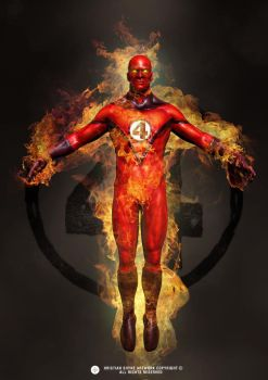 Human Torch by Shyne1