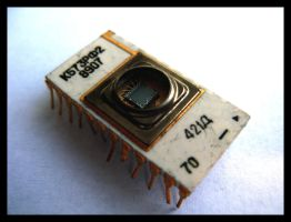 old russian integrated circuit by happymaster