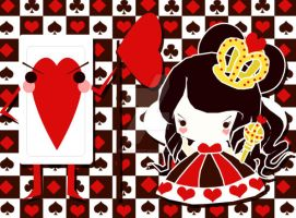 Wonderland- Queen of Hearts by Kitsune-Petit