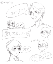 YOI Sketch 1 by maguney