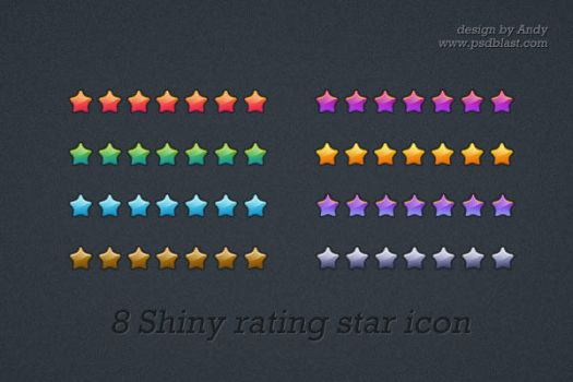 rating star icon by psdblast