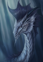 Portrait Commission for Belen by Trioza