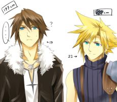 Dissidia FF- Difference by meru-chan