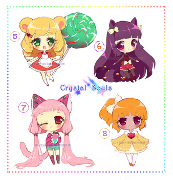 Sketchy Adopts [CLOSED] Crystal Souls by Neko-Rina