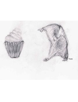 that's one big cupcake by Thuree