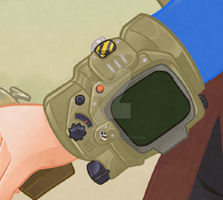 Pip Boy Preview by TheCartoonLoon