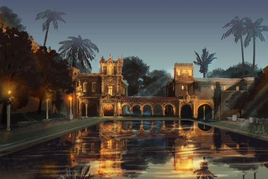 Balboa Park by chateaugrief