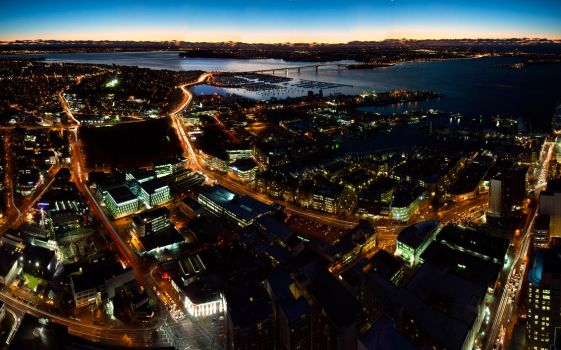 NightView of Auckland by Shutong