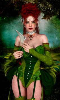 Lady Green by Ikke46