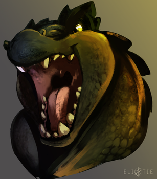 Kes Icon Commission by Elicitie