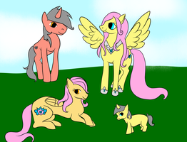 Fluttershy's Family by Almost-Toxic