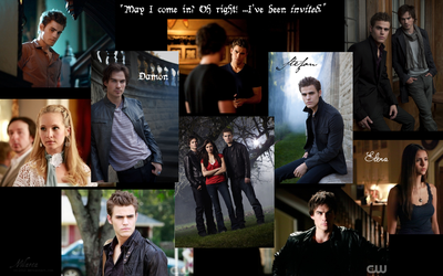 Vampire Diaries wallpaper by Milarca
