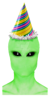 Chad Party Alien by IsellaHowler