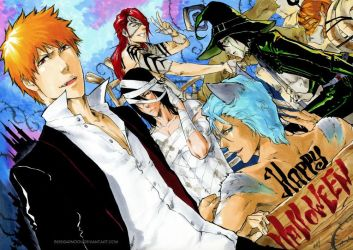 BLEACH: Happy Halloween by Sideburn004