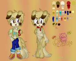 Dino The Puppy Dog (Bio and Reference) by FloofPuppy