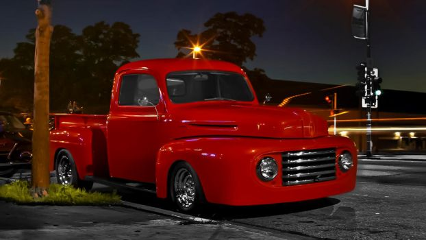Lil Red Ford Pickup - Rewind Post by rimete