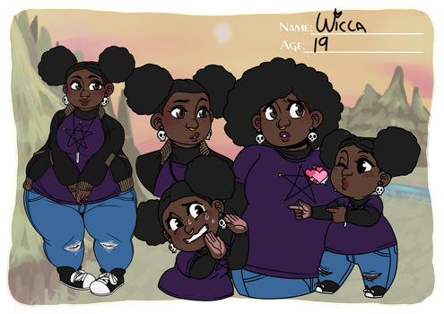 EG - Wicca - Reference Sheet by 3712